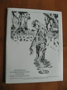 APPARITIONS PORTFOLIO BERNI WRIGHTSON 1978 FULL COLOR