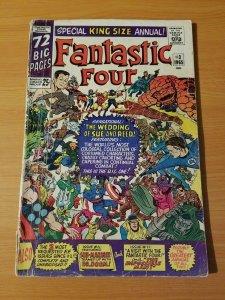 Fantastic Four Annual #3 ~ VERY GOOD VG ~ (1965, Marvel Comics)