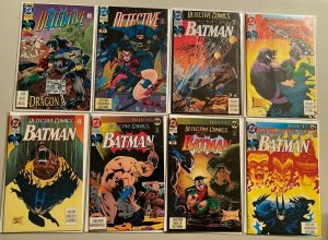 Detective comics lot from:#650-699 43 difference 8.0 VF (1992-96)