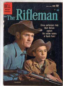 Rifleman, The #3 (Jun-60) FN- High-Grade Lucas and Mark McCain