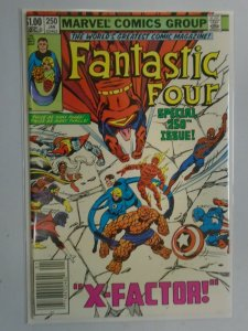 Fantastic Four #250 Newsstand edition 8.0 VF (1983 1st Series)