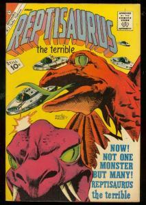 REPTISAURUS THE TERRIBLE VOL2#3 1962-CHARLTON-LOCH NESS VF
