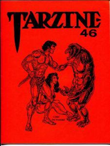 Tarzine #46 5/1986-Bill Ross-Edgar Rice Burroughs-Tarzan-collector info-VF
