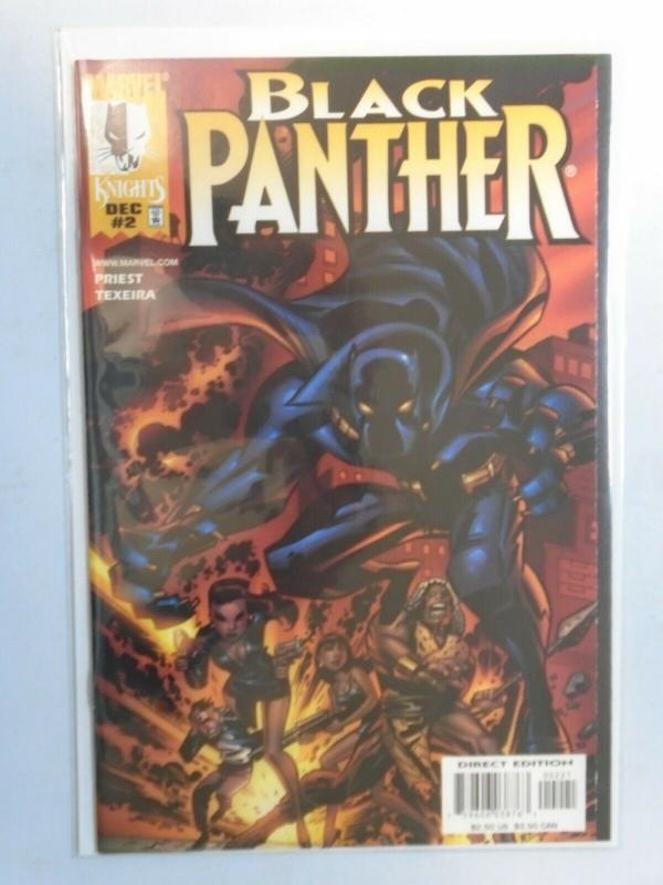 Black Panther #2B 8.0 VF (1998 2nd Series)