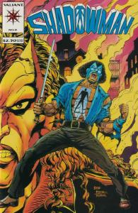 SHADOWMAN  10-Different, Valiant Comics' Dark Side,