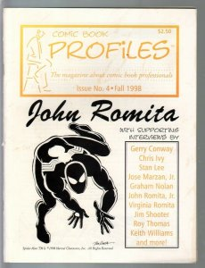 Comic Book Profiles #4 1998-John Romita issue-VF