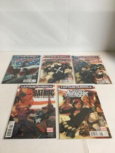 Captain America 5 Issue One Shot Lot Nm Near Mint Marvel Comics A15