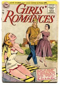 GIRLS' ROMANCES #34-SWIMSUIT CVR-DC ROMANCE G