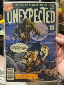DC UNEXPECTED #186 (1978) The Demon Fireball, Sonny Trinidad, Luis Dominguez