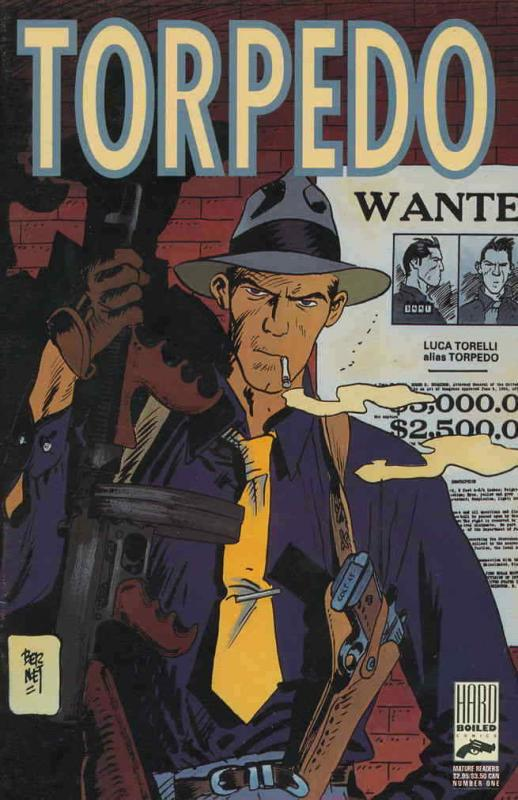 Torpedo #1 VF/NM; Hard Boiled | save on shipping - details inside