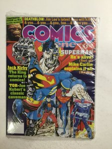 Comics Scene #34 June Magazine Very Fine Vf 8.0 Jacobs Publications