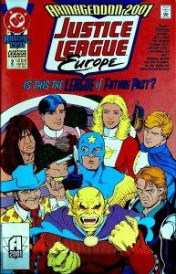 Justice League Europe Annual #2 (1991)