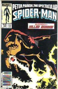 Spider-Man, Peter Parker Spectacular #102 (May-85) VF High-Grade Spider-Man