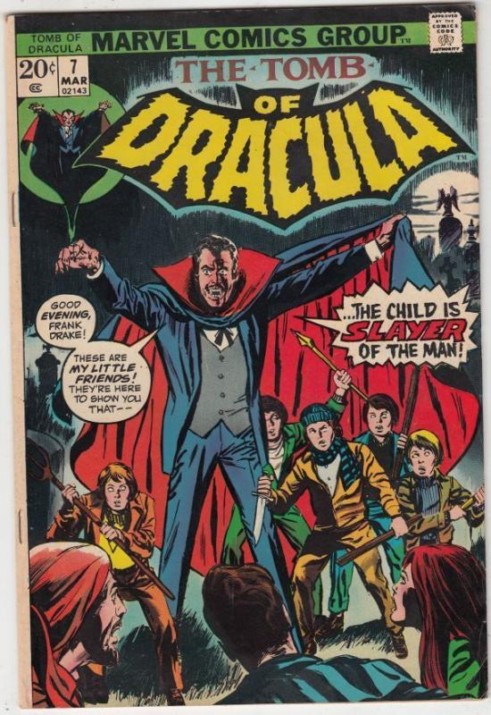 Tomb of Dracula 7 strict VF+ 8.5 High-Grade   Van Helsing   C'ville Collection