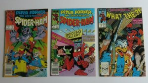 Peter Porker The Spectacular Spider-Ham #1 & 2 + What The #3 VF+ Marvel Comics