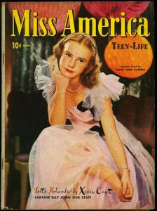 Miss America Vol 3 #2 1945-Fashions- Patsy Walker- Timely Comics FN-