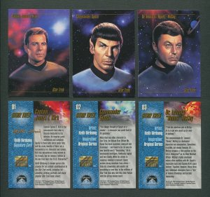 1993 Skybox Star Trek Master Series Set MINT