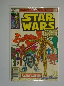 Star Wars #47 7.0 FN VF (1981 Marvel)