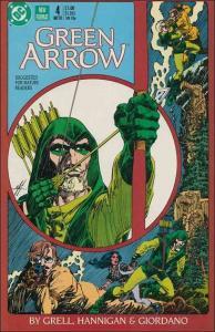 DC GREEN ARROW (1988 Series) #4 NM