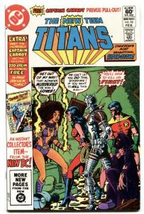 New Teen Titans #16 . multiverse first Captain Carrot  nm- 1982.