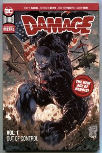 Damage Volume 1 Trade Paperback 1st print 2018