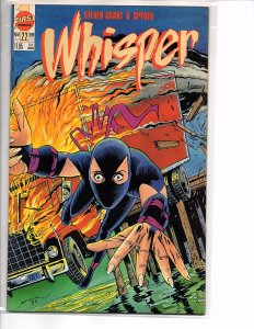 First Comics Whisper #21 & 22 (1988) Steven Grant Bruce Timm NM