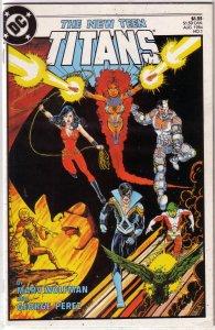New Teen Titans (vol. 2, 1984) #  1 VG/FN Wolfman/Perez, Trigon