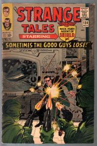 Strange Tales #138 1965-Marvel-Nick Fury-John Severin-Stan Lee-Dr Strange-FN-