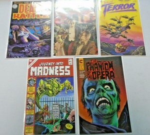 Horror Comics 5 Different Issues