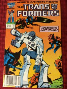 Transformers #25 (1987) Marvel Megatron's Last Stand VF/NM