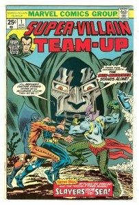 Super-Villain Team-Up 1   Sub-Mariner & Doctor Doom begins
