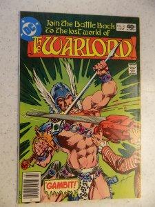 WARLORD # 35 DC ACTION ADVENTURE FANTASY SWORD SORCERY