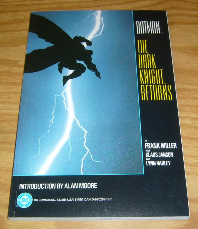 Batman: the Dark Knight Returns TPB VF/NM frank miller - alan moore intro (1st)