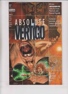 Absolute Vertigo #1 FN 1st appearance of garth ennis' preacher (predates #1)