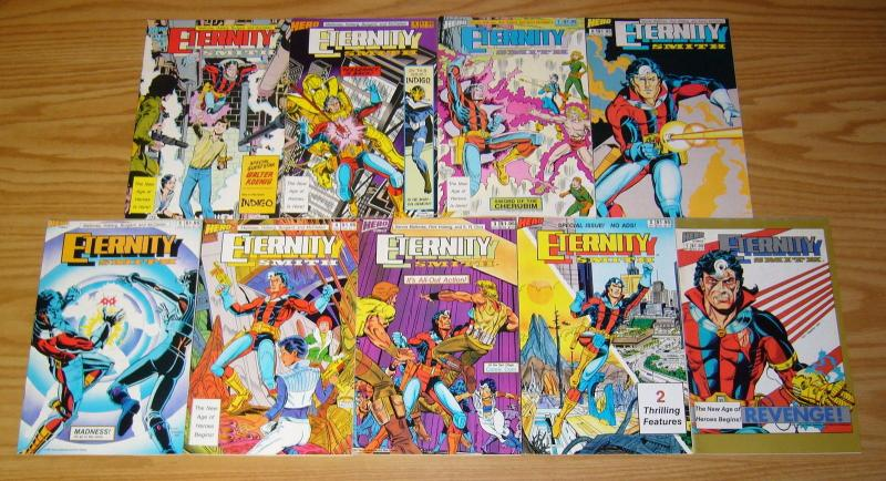 Eternity Smith vol. 2 #1-9 VF/NM complete series - hero comics set lot