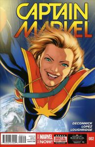 Captain Marvel (9th Series) #2 VF/NM; Marvel | save on shipping - details inside