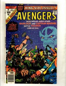 Avengers King Size Annual # 7 NM- Marvel Comic Book Thanos Warlock Iron Man HY1