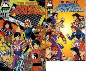 MIGHTY BOMBSHELLS (1993 ANTARCTIC) 1-2