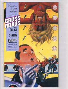 Cross Roads #3 NM First Publishing Comic Book Salick 1988 DE47 AD33
