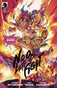 NO ONE LEFT TO FIGHT (2019 DARK HORSE) #1 SECOND PRINT PRESALE-08/14