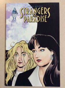 STRANGERS IN PARADISE #11, NM-, Terry Moore, Abstract Studio, 1997 more in store