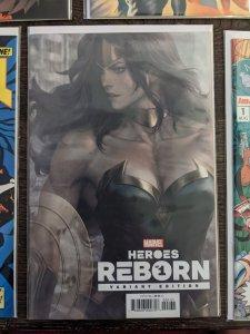 Heroes Reborn #1. Wonder Woman Variant Cover