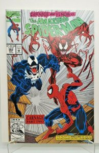 Amazing Spider-Man #362 2ND PRT 1992 Carnage and Venom NM