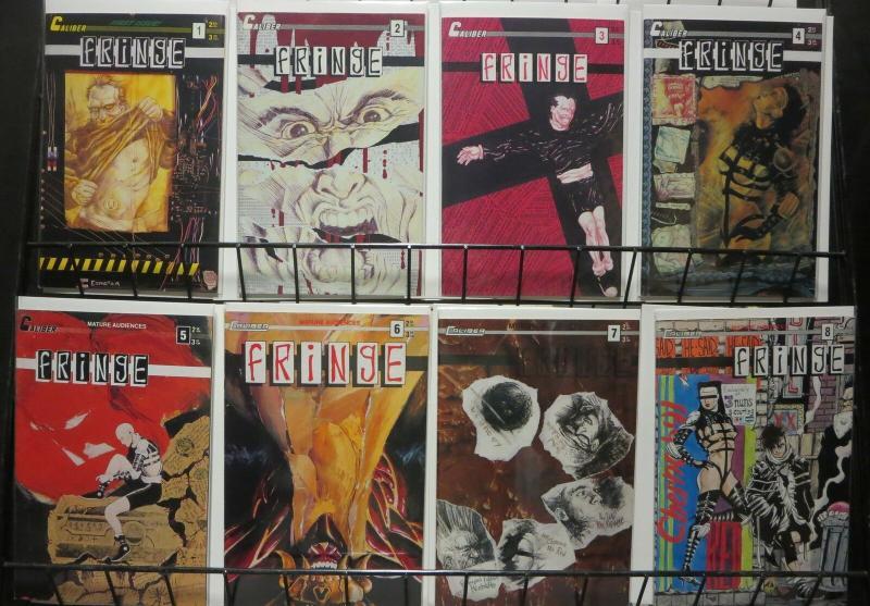 FRINGE (1990 CALIBER) 1-8  complete series!