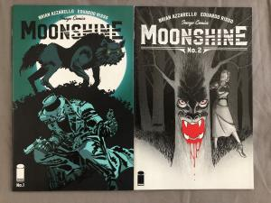 MOONSHINE - Two (2) Issue Lot - #1 and #2 - Risso and Azzarello - Image