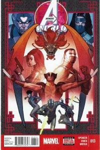 Avengers World #13 Ascendants Black Widow NM