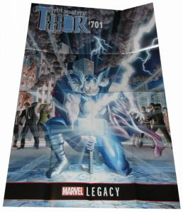 Mighty Thor #701 Alex Ross Folded Promo Poster (36 x 24) - New!
