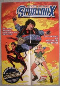 SPARTAN X Promo poster, Jackie Chan, 13x19, 1997, Unused, more Promos in store