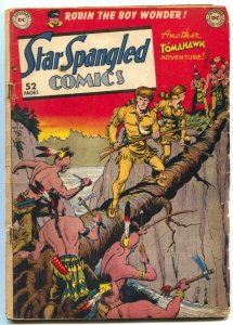 Star Spangled Comics #98 1949- Tomahawk- Robin- Batman Cameo VG