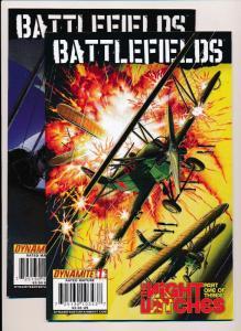 BATTLEFIELDS #1,2 Dynamite Comics ~ VF (HX453)